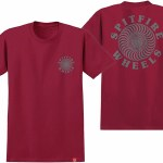 Spitfire OG Classic Short Sleeve T Shirt-Cardinal Grey-L