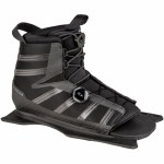 Radar Vector BOA Water Ski Boot w/ Front Feather Frame-Carbon/Black-XL