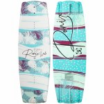 Ronix Womens Krush SF Wakeboard-Tropical Sparkle White/Blue/Purple-134