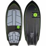 Ronix Carbon Air Core 3 Sprocket Wakesurfer-Black/Green-4'7