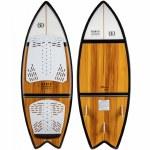 Ronix Koal Classic Fish Wakesurfer-Maple/White/Black-4'6