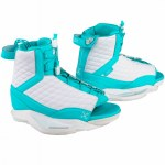 Ronix Womens Luxe Wakeboard Boot-White/Blue Orchid-8/10.5