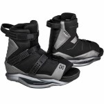 Ronix Boys Anthem Wakeboard Boot-Black/Black Chrome-2/6