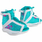 Ronix Girls August Wakeboard Boot-White/Pink/Blue Orchid-2/6