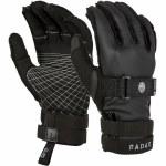 Radar Atlas Inside Out Water Ski Glove-Blackout-S