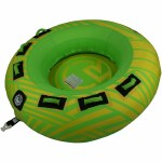Radar UFO 2 Person Tube-Yellow/Green