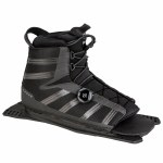 Radar Vector Boa Boot Rear Feather Frame-Carbon Black-S