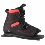 Radar Lyric BOA Boot Front Feather Frame-Black/Coral-S