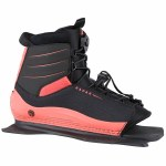 Radar Lyric Boot Front Feather Frame-Coral/Black-STD