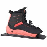 Radar Lyric Boot Rear Feather Frame-Coral/Black-STD