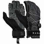 Radar Vapor-K Boa Inside-Out Glove-Black/Grey Ariaprene-S