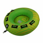 Radar UFO 2 Person Tube Tube-Yellow/Green-2p