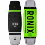 Ronix District Wakeboard-Textured Black/Green-134