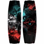 Ronix Krush SF Tropical Sparkle Wakeboard-Black/Mint/Coral-134