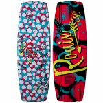 Ronix August Wakeboard-Sparkle White/Pink/Blue/Yellow -120