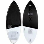 Ronix Carbon Air Core 3 The Skimmer Wake surfer-White/Black-4'4