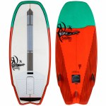 Ronix Koal w/Technora Crossover Wake surfer-White/Green/Red-4'11