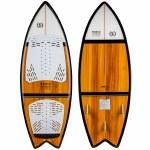 Ronix Koal Classic Fish Wake surfer-Maple/Black-4'6