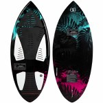 Ronix Women's Carbon Air Core 3 Skimmer Wake surfer-Black/Mint/Coral-4'4