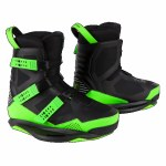 Ronix Supreme Intuition Wakeboard Binding-Black/Volt-8/9
