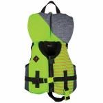 Ronix Vision Boy's CGA Life Vest-Lime Heather-30lbs