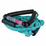 Ronix Women's Bungee Surf Rope w/10 in. Handle 4 Sect. Pink-25ft
