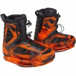 Ronix Parks Wakeboard Boot-Electric Orange-11