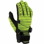 Radar Vapor Boa A Inside Out Water Ski Glove-Glow/Grey Stripes-S