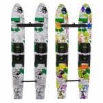Radar Firebolt Combo Water Ski with Child Adjustable Horseshoe Bindings- Jungle Coloring Book-46
