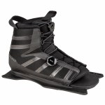 Radar Vector BOA Water Ski Boot-Front Feather Frame-Carbon/Black-Std
