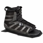 Radar Vector BOA Water Ski Boot-Front Aluminum Frame-Carbon/Black-Std