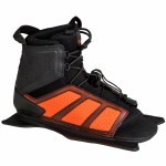 Radar Vector Water Ski Boot-Front Feather Frame-Steel/Orange-Std