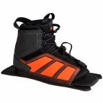 Radar Vector Water Ski Boot-Rear Feather Frame-Steel/Orange-Std