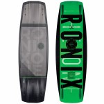 Ronix One Time Bomb Core Wakeboard w/ Fuse Stringers-Stealth Black-138