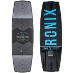Ronix Vault Wakeboard-Black/Metallic Silver/Blue-134