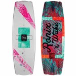 Ronix Womens Krush Wakeboard-Beach Sunset-Pearl White/Pink/Mint-128