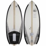 Ronix Hex Shell 2 The Conductor Wakesurfer-White/Carbon-4'7