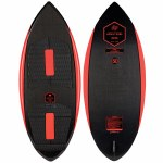 Ronix Carbon Air Core 3 The Skimmer Wakesurfer-Carbon/Caffeinated-4'4