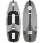 Ronix Koal w/ Technora-Powertail+ Wakesurfer-Metallic Silver-4'5