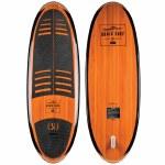 Ronix Koal Classic Longboard Wakesurfer-Cherry Wood/Black-4'10