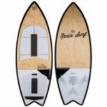 Ronix Koal Classic Fish Wakesurfer-Maple/White/Black-5'6