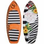 Ronix Marsh Mellow Thrasher Wakesurfer-Orange Pineapple Express-4'8