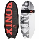 Ronix Modello Surf Edition Stub Fish Wakesurfer-Caffeinated/Black-4'8
