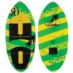 Ronix Super Sonic Space Odyssey Skimmer Wakesurfer-Tropical Green/Yellow-3'11