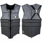 Ronix Parks Athletic Cut Impact Shirt-Charcoal Heather/Grey-L