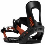 Switchback Mens Smith Black Snowboard Binding-Assorted-M/XL