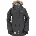 3CS Scarlet Snowboard Jacket Womens-Graphite-S