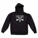 Thrasher Mens Skate Goat Hoodie-Black-XL