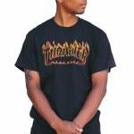 Thrasher Richter Short Sleeve T Shirt-Black-XL