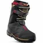 32 TM 2 XLT Jones Snowboard Boot-Black/Tan/Red-10.0